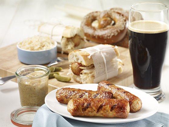 saucisses bacon & cheddar olymel