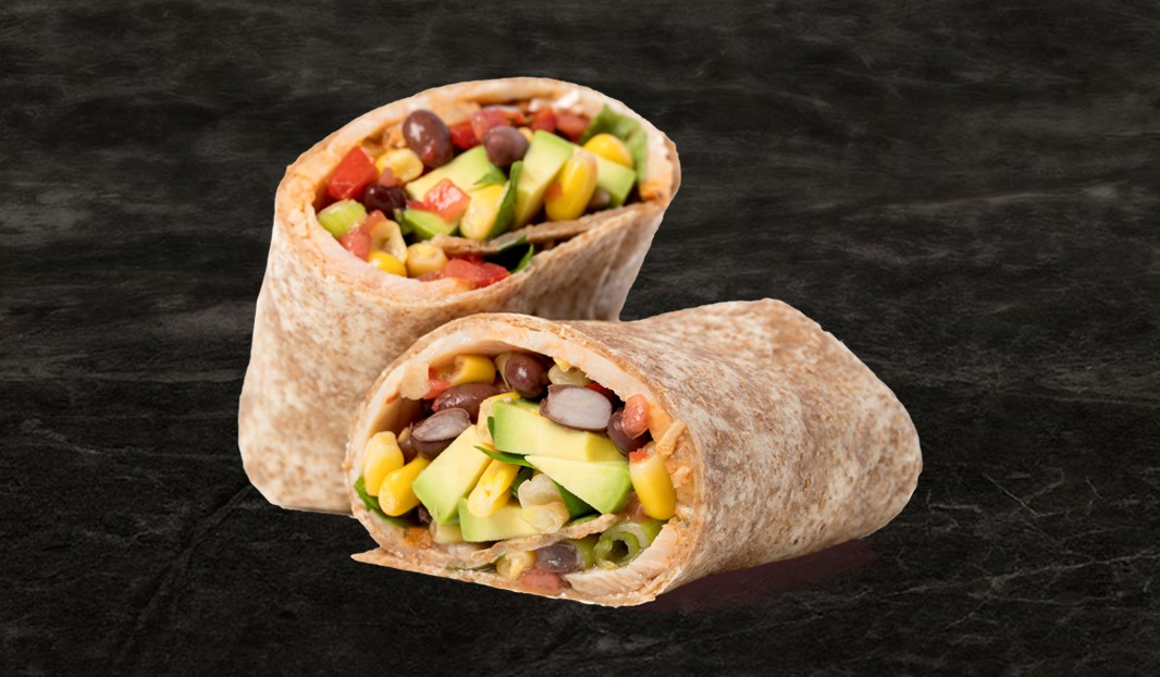 Burrito à la dinde style tex-mex