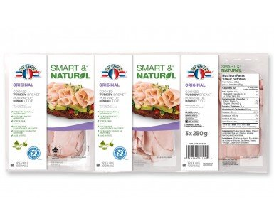 Shaved Cooked Turkey Breast - Tri pack