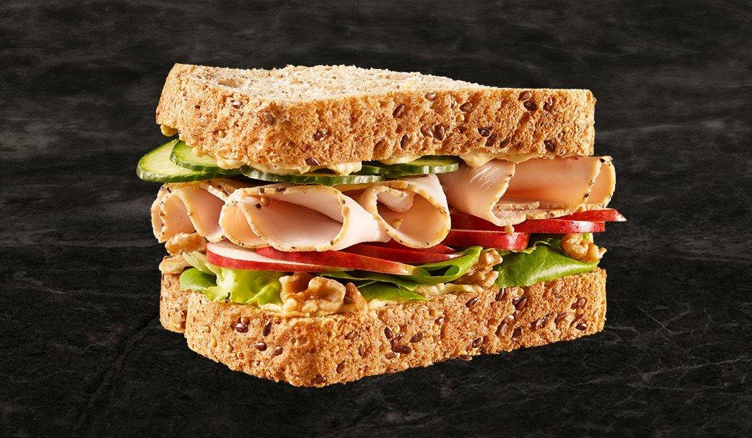 Sandwich à la dinde des grands jours