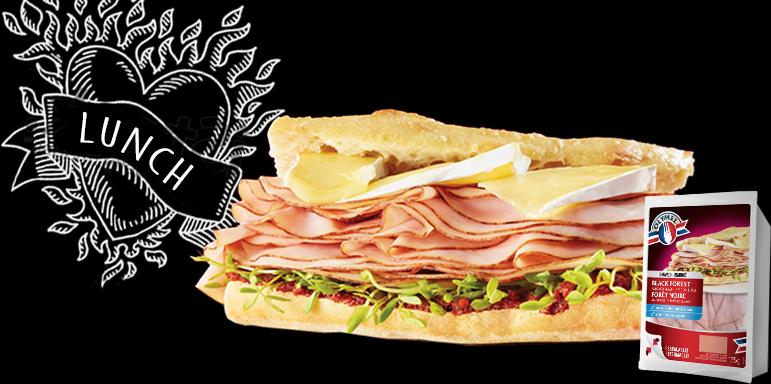 A ham & brie.