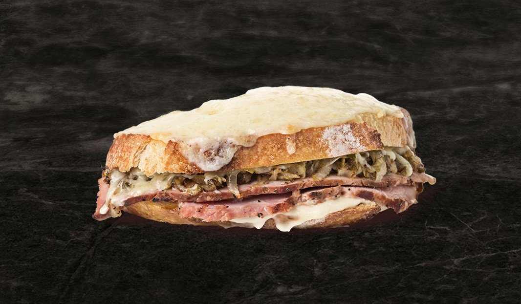 Croque Witloof with Ham (or Belgian Croque)