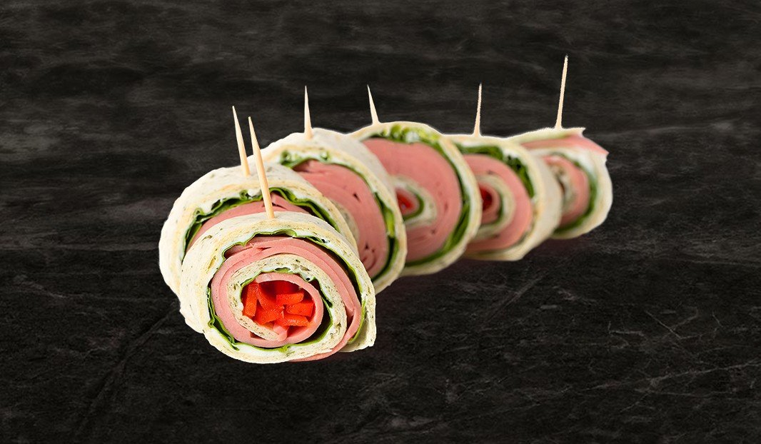 Mock Chicken Spirals with Cream Cheese
