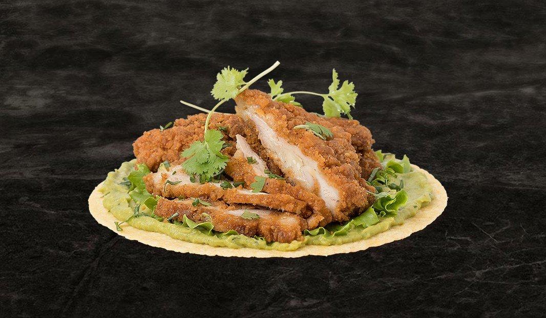 Tacos au poulet frit
