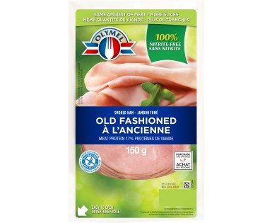 Sliced Old Fashioned Smoked Ham, nitrite-free