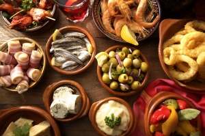 Tapas night with friends