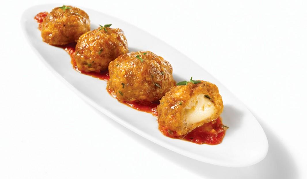 Boulettes de saucisses Italiennes épicées et de bocconcini
