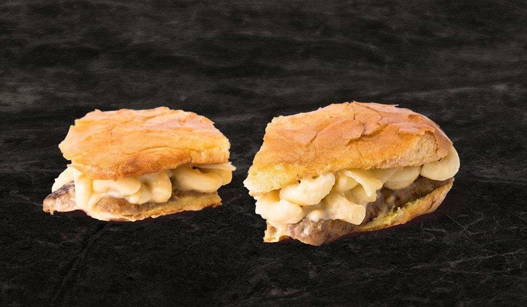 Macaroni Sausage Panini
