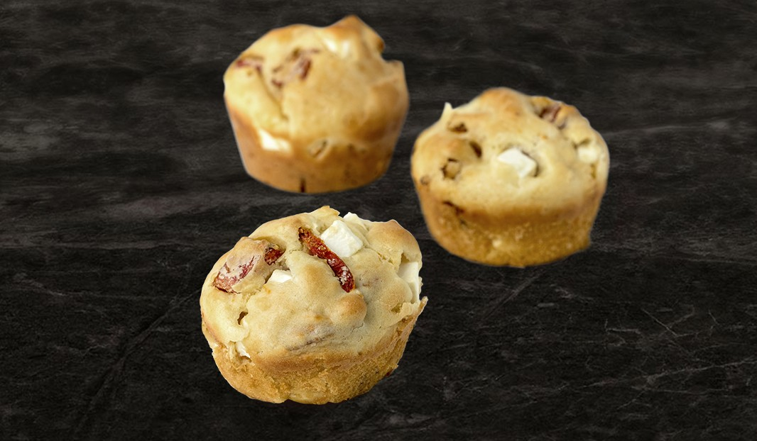 Muffin-repas au pepperoni