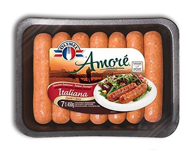 Amoré Sausages Spicy Italian