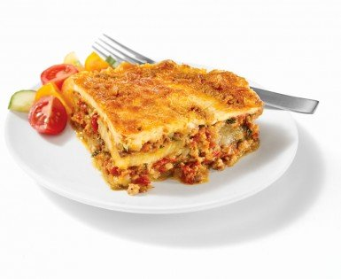 Moussaka with Mild Italian sausage
