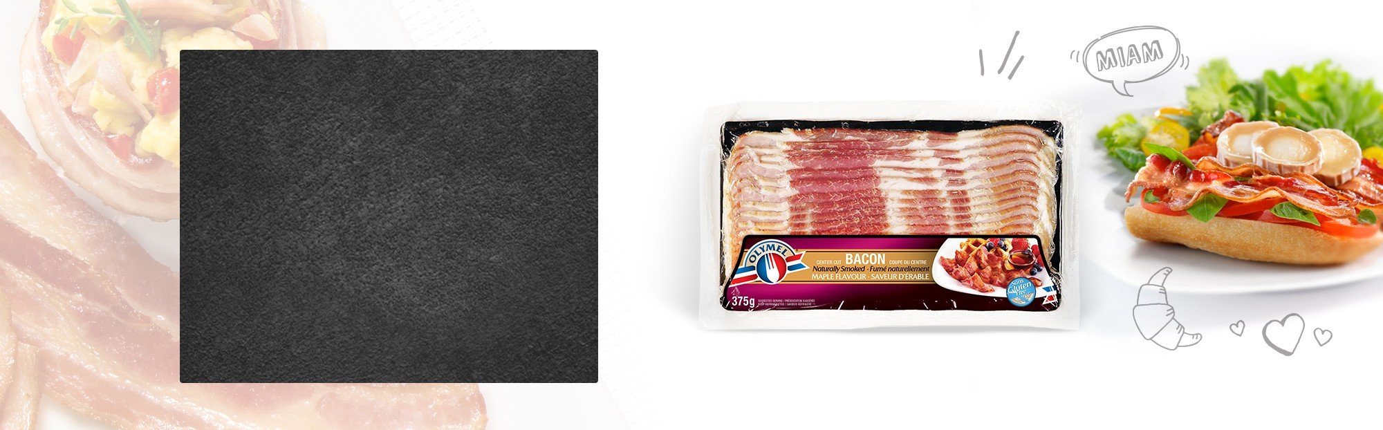 Maple Flavour Naturally Smoked Bacon