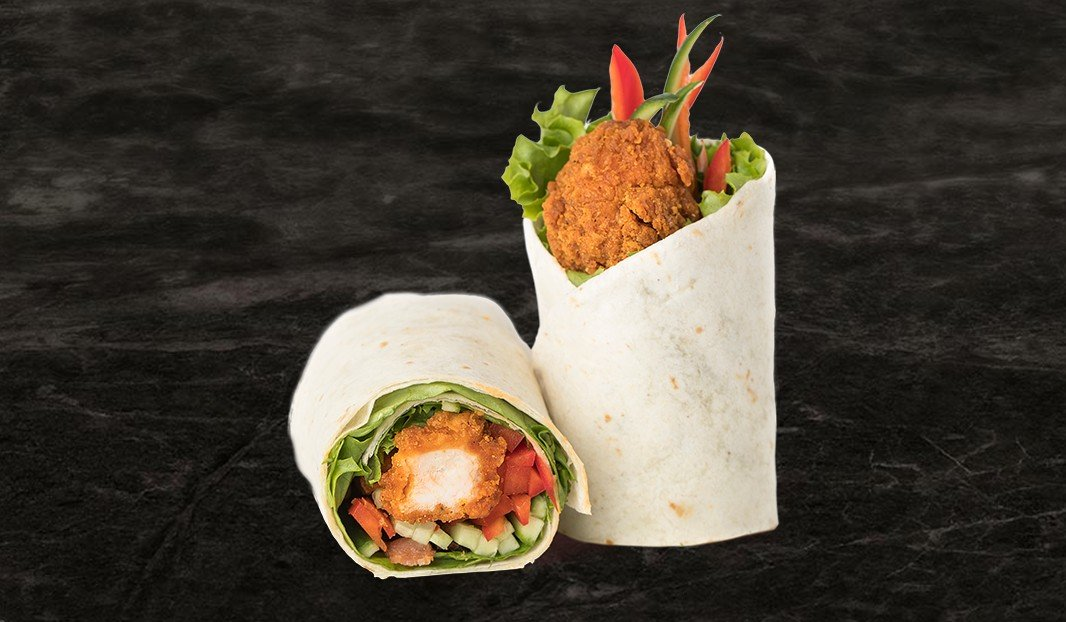 Seasoned Chicken Wrap Seasoned Chicken Wrap