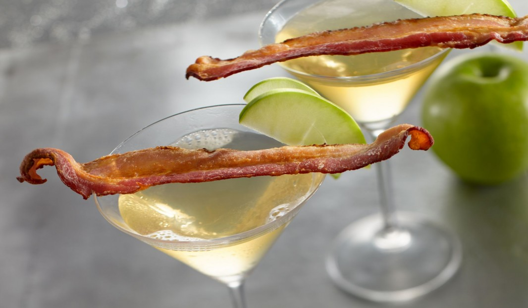 apple bacon martini olymel