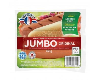 JUMBO Uncured Wieners Nitrite-free