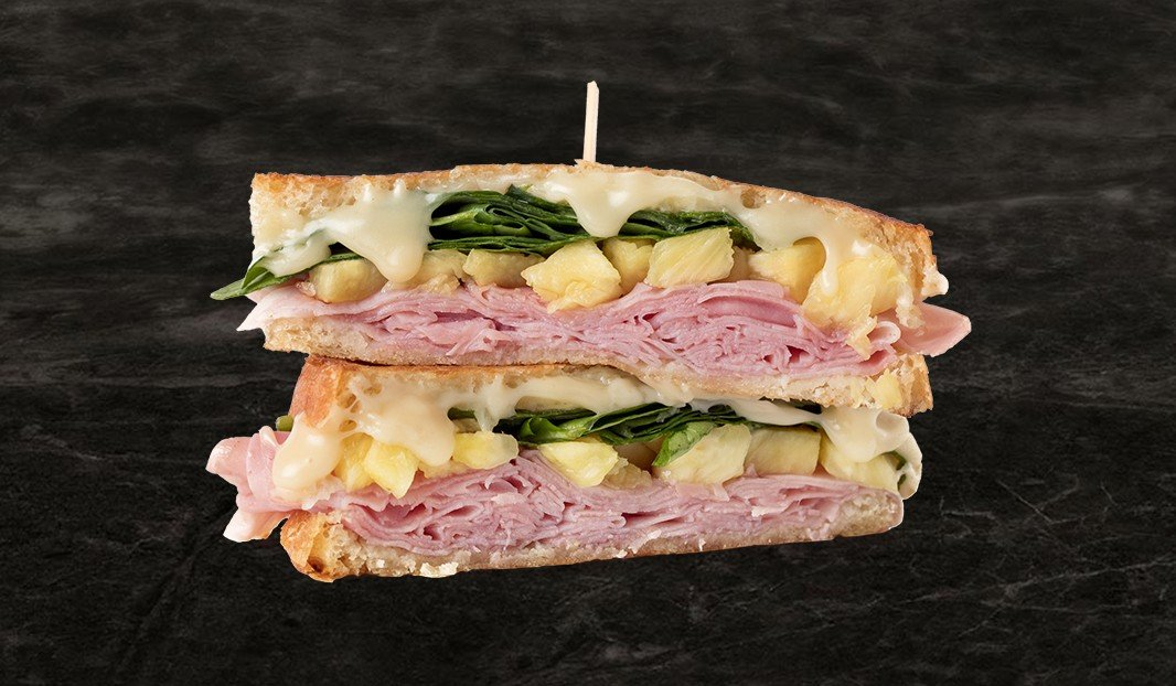 Pineapple Ham Grilled Cheese
