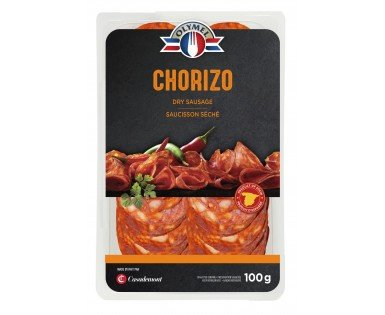 Chorizo dry sausage