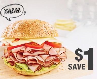 Save 1$ on a package of Olymel Smart&Naturel sliced meats