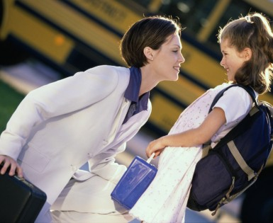 5 tips to get your kids out the door on time