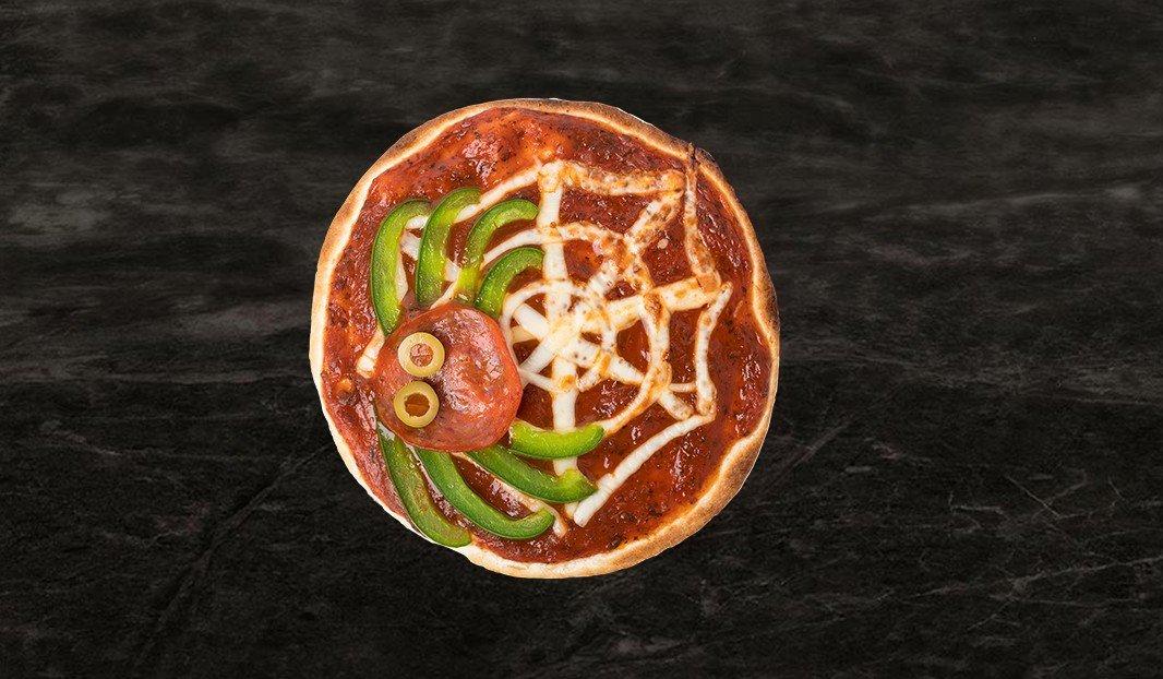 Tortillas-pizza de l'araignée