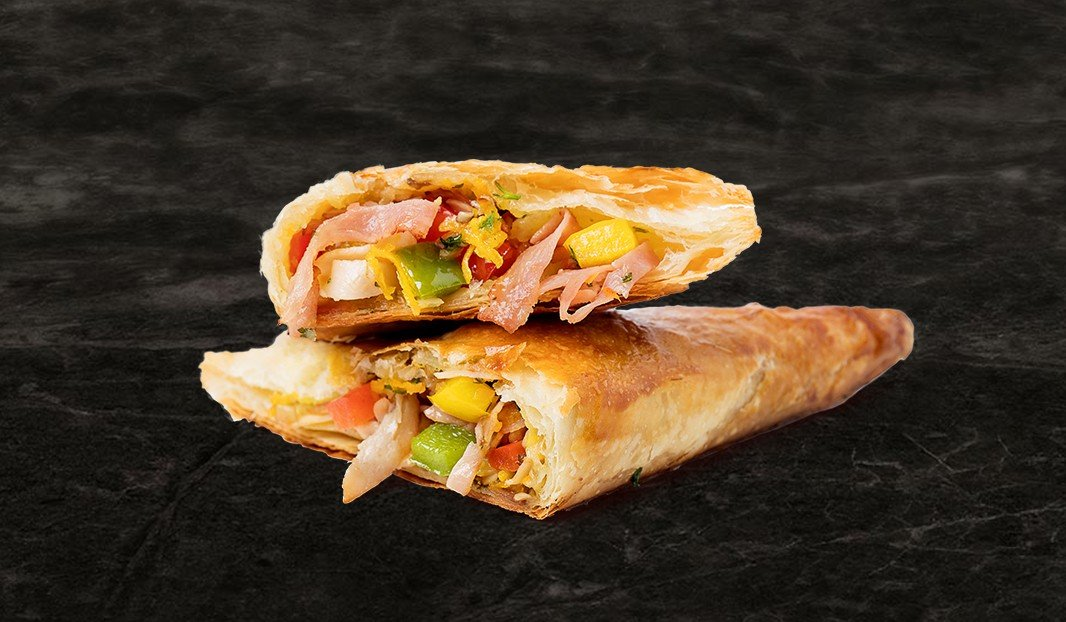 Chicken & Ham Stuffed Turnovers
