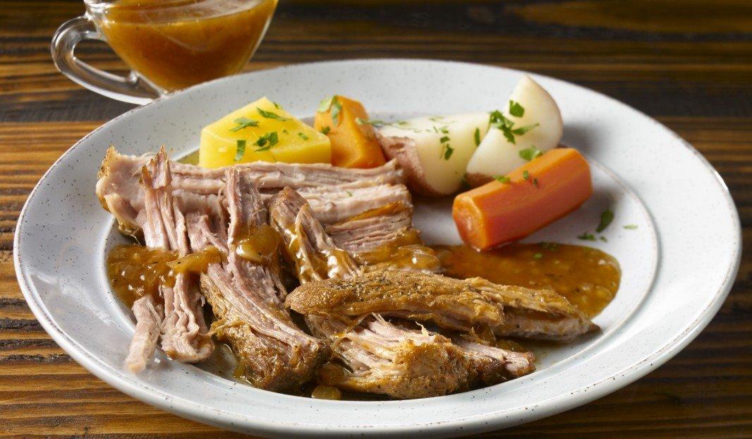 Noix de porc à la sauce B.B.Q. au Whisky en mijoteuse