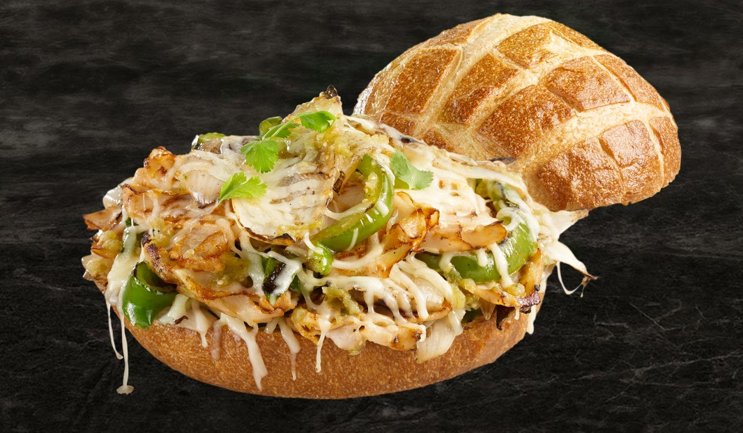 Sandwich phily mexicain