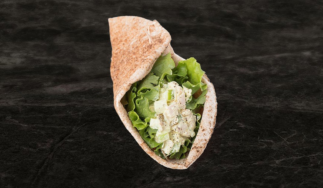 Curried Turkey Salad Wrap