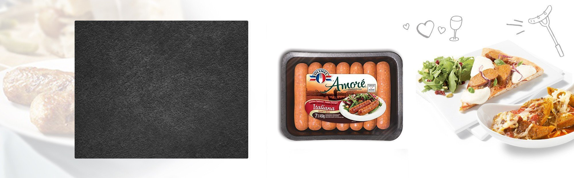 Amoré Sausages Spicy Italian