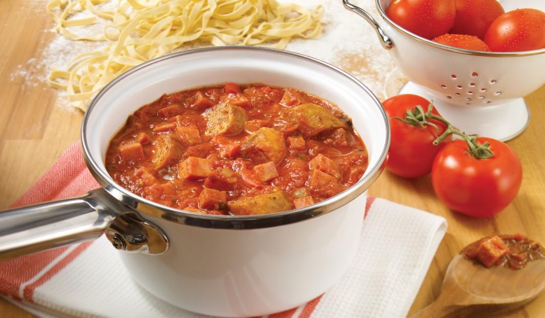 Sauce au pepperoni et saucisse Italienne