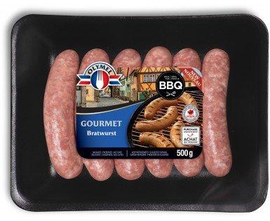 Bratwurst sausages Gourmet