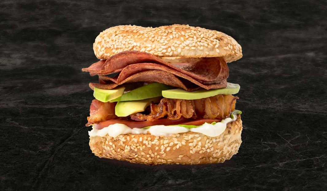 Bagel Salami Bacon