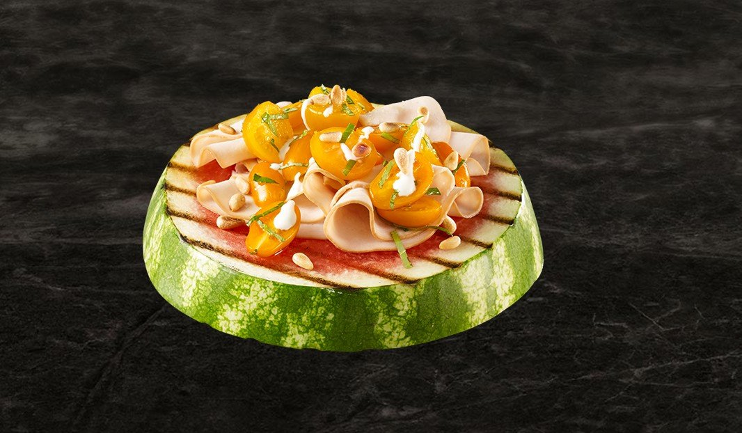 Sunny Grilled Melon