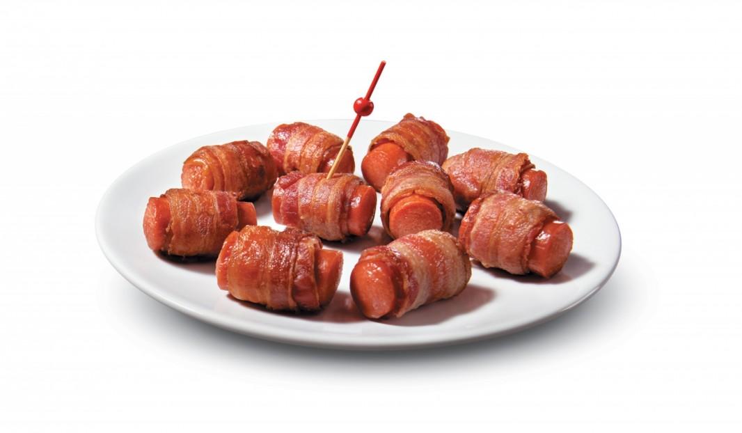 Bouch es de saucisses fum es et bacon olymel inspirez for Hors d oeuvre avec saumon fume