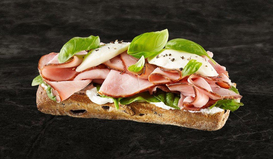 Florentine Ham Melt