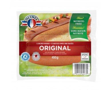 Olymel Uncured Wieners nitrite-free