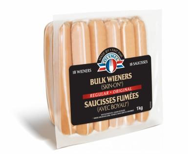 Saucisses fumées Original (avec boyau)