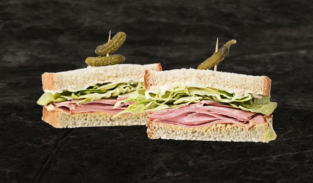 Sandwich parfait au jambon