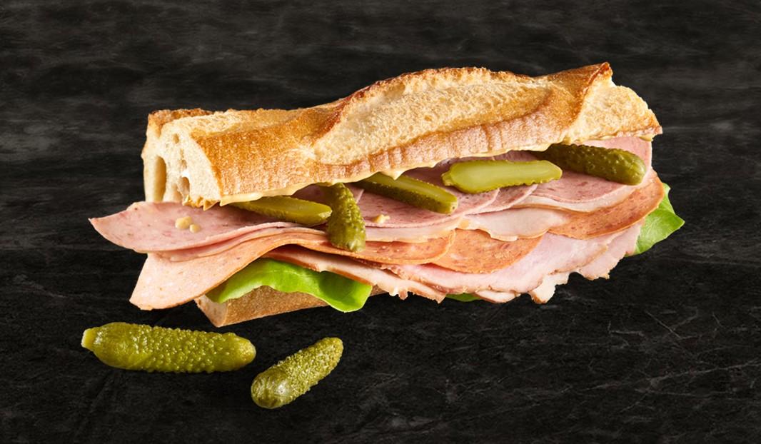 Sandwich du charcutier