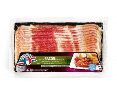 Bacon à saveur de fumée de bois de pommier