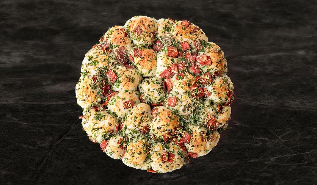 Boules-pizza au pepperoni