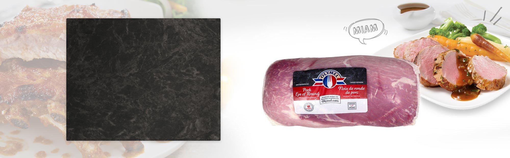 Noix de ronde de porc