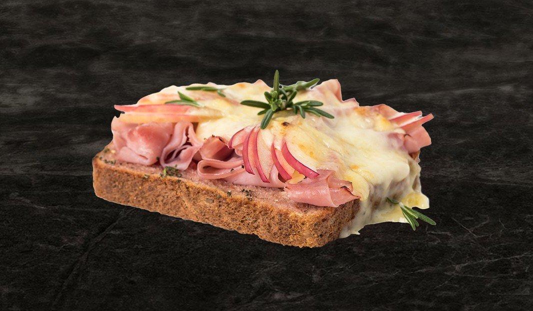 Ham, Apple, Raclette Melt