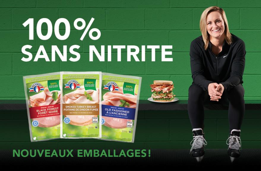 100 % Sans Nitrite - Le goût de manger mieux