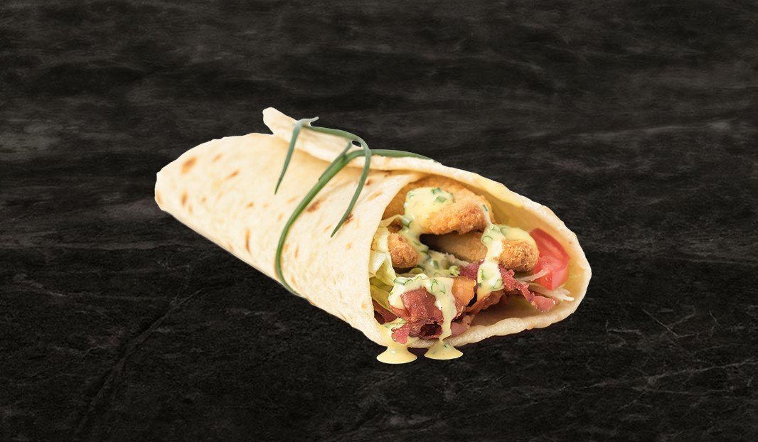 Breaded Chicken Wrap Your Way