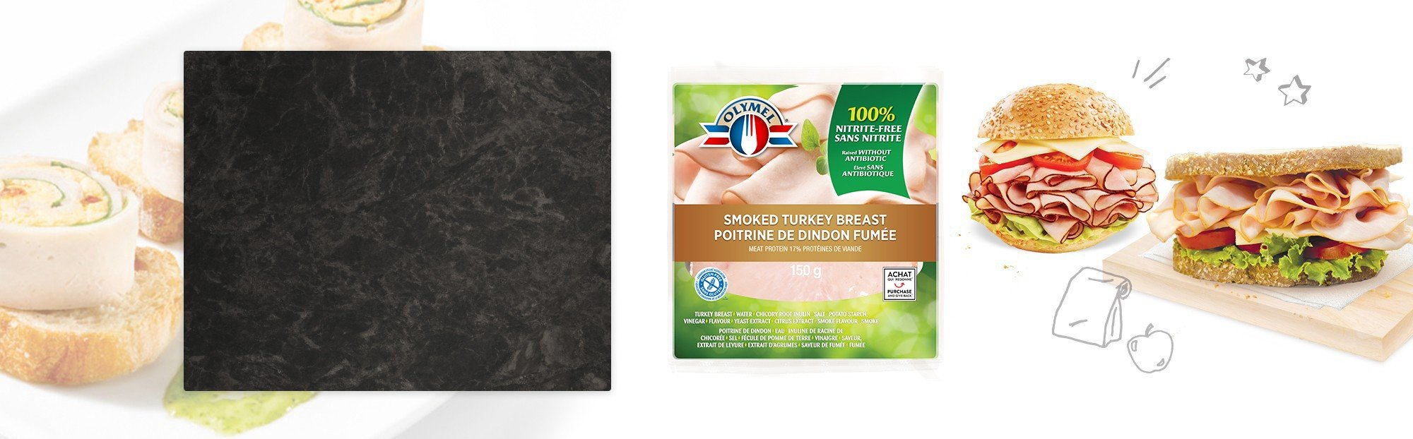 Smoked Turkey Breast, nitrite-free