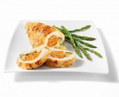 Chicken breasts stuffed with mild italian sausage