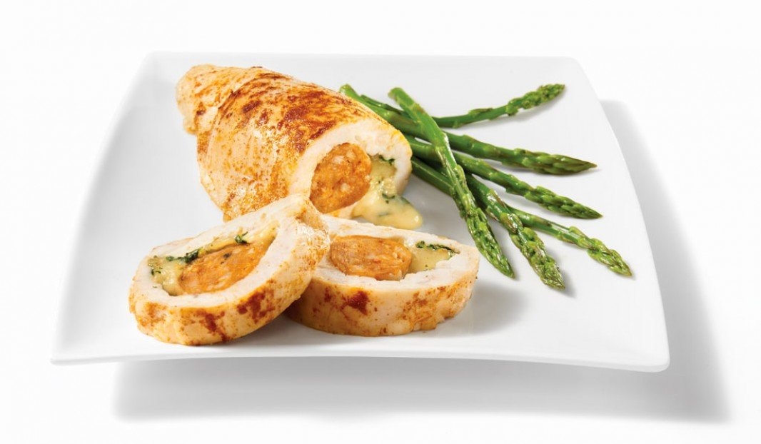 Chicken Breast Stuffed With Mild Italian Sausage Olymel