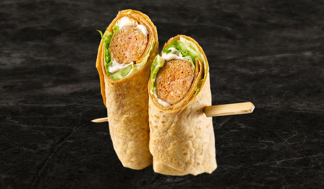 Wrap saucisse, triple piquants