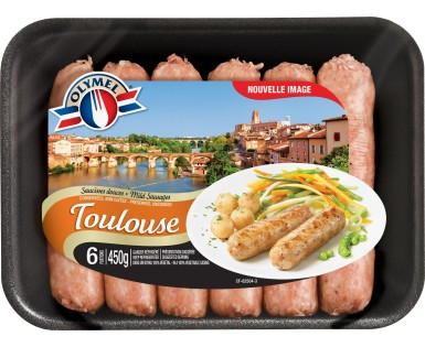 European Sausages Mild Toulouse
